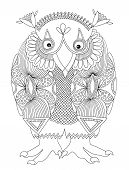 animal fantasy personage, owl