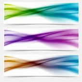 Liquid Swoosh Lines Web Headers Or Footers