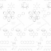 Abstract Seamless Chemical Background