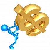 Holding Falling Dollar