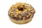 Chocolate Fudge Ring Donut