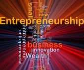 picture of entrepreneurship  - Background concept illustration of business entrepreneurship entrepreneur glowing light - JPG