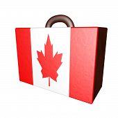 Canada Suitcase