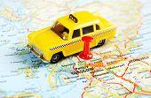 Glasgow Scotland Taxi Map