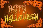 Halloween Background Text