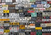 Various License Plates
