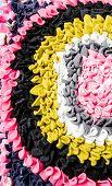 colorful doormat