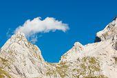 Mount Mangart, Slovenia
