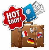 Hot Tour Icon