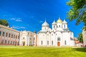 Russia Veliky Novgorod  Kremlin St. Sophia Cathedral