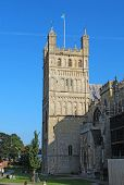 North Tower Of Exeter Cathedral, Devon, United Kingdom