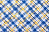 Checkered Textile Background