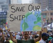 Save Our Ship sign