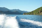 Scenic Marlborough Sounds, New Zealand.