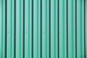 Turquoise Metal Wall