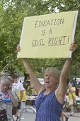 Education Is A Civil Right Sign