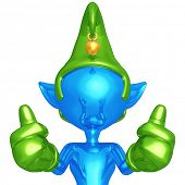 Elf Thumbs Up
