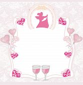 Pink Invitation To The Prom Dance