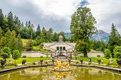 Fountain Near Linderhof Palace