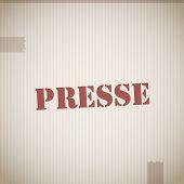 Presse stamp