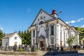Parish Church St. Peter And Paul In Andermatt