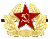 Soviet Cap Badge