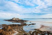 Fort National, Saint Malo, Brittany, France