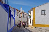 Medieval City Of Obidos, Portugal