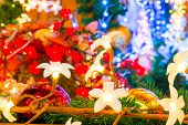 Beautiful Floral Garland For Christmas Holiday