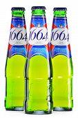 Bottles Of Kronenbourg 1664 Beer Isolated On White