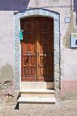Wooden door. Pietragalla. Basilicata. Italy.