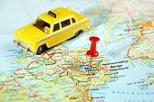 Belfast  Ireland  ,united Kingdom  Map Taxi