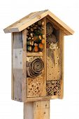 Wooden Insect House Garden Decorative Bug Hotel And Ladybird And Bee Home