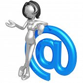 Pregnant Woman With Email