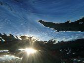 Sun Light Underwater