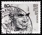 Postage Stamp Germany 1988 Jacob Kaiser, German Politician