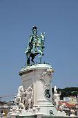 King Jose I Statue In Lisbon