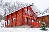foto of guest-house  - Log house in the guest complex - JPG
