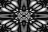 Black And White Blurred Pattern