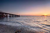 Sundown At Polpeor Cove