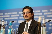 BERLIN, GERMANY - FEBRUARY 08: Japanese actor Hiroyuki Sanada, 'Mr. Holmes' press conference. 65th Berlinale International Film Festival at Grand Hyatt Hotel on February 8, 2015 in Berlin, Germany.
