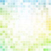 Abstract colorful pixel bright background