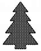 The Christmas Tree Knitted