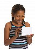 Young Girl Gaming