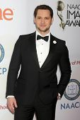 LOS ANGELES - FEB 6:  Matt McGorry at the 46th NAACP Image Awards Arrivals at a Pasadena Convention Center on February 6, 2015 in Pasadena, CA