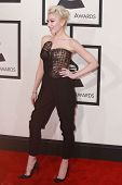 LOS ANGELES - FEB 8:  Gwen Stefani at the 57th Annual GRAMMY Awards Arrivals at a Staples Center on February 8, 2015 in Los Angeles, CA