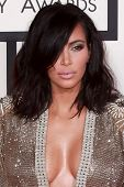 LOS ANGELES - FEB 8:  Kim Kardashian West at the 57th Annual GRAMMY Awards Arrivals at a Staples Center on February 8, 2015 in Los Angeles, CA