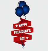 Happy Presidents Day. Presidents day banner illustration design.