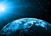 Planet earth. Best Concept of global business from concepts series.(Elements of this image furnished by NASA)