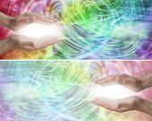Color Light Healing Therapy Website Header
